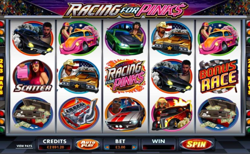 Play Racing For Pinks Online Slot For Free
