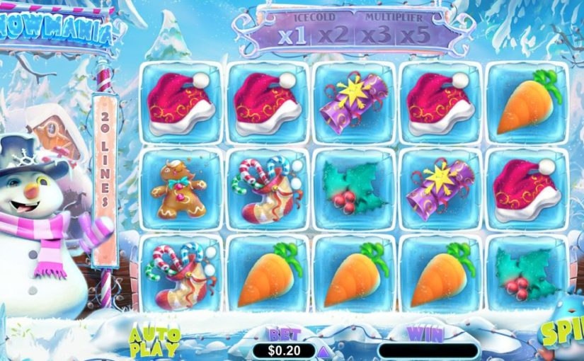 Play Snowmania Online Slot For Free