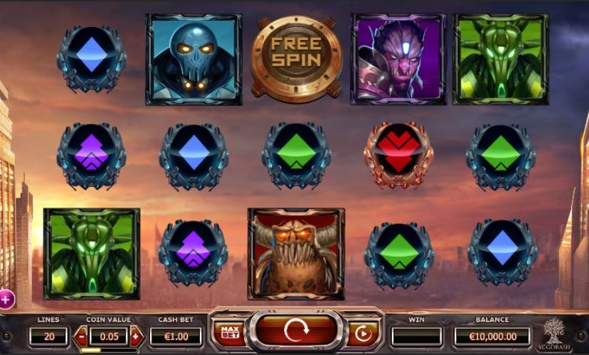 Play Super Heroes Online Slot For Free