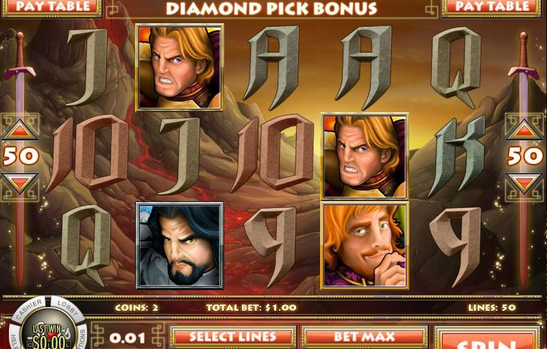 Diamond Dragon Online Slot