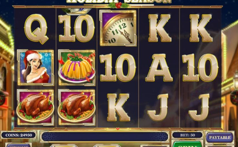 Play Holiday season Online slot for free