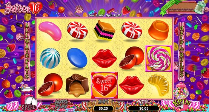 Play Sweet 16 Online Slot For Free