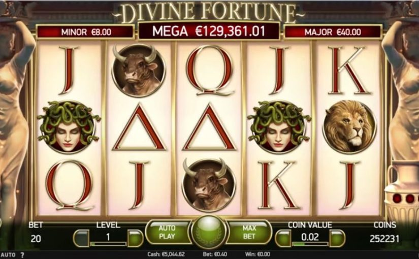 Play Divine Fortune Online Slot For Free