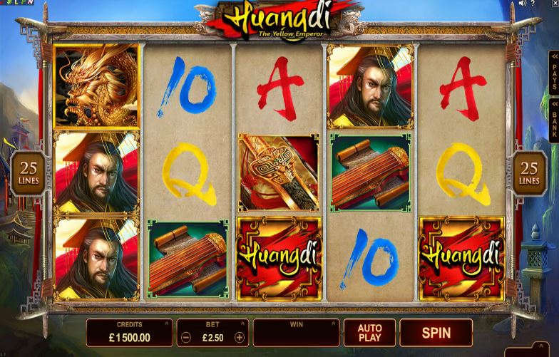Play Huangdi - The Yellow Emperor Online Slot For Free