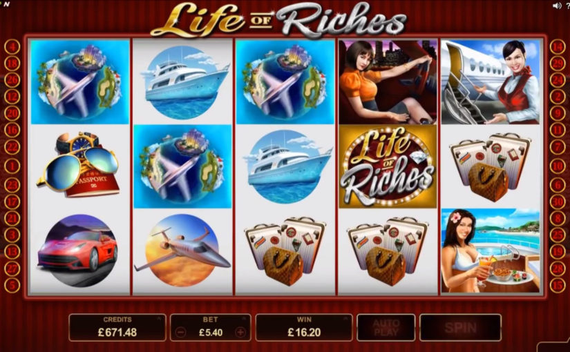 Play Life Of Riches Online Slot For Free