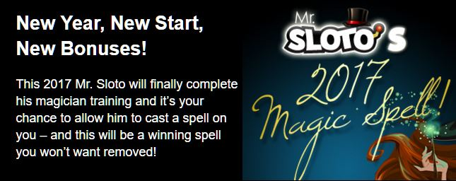 slots magic bonus code 2017
