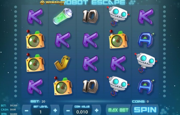 Play Robot Escape Online Slot For Free