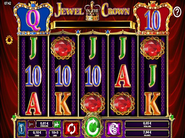 Play Jewel In The Crown Online Slot For Free