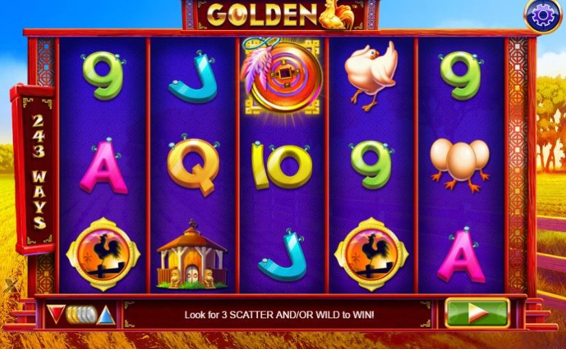 Play Golden Online Slot For Free