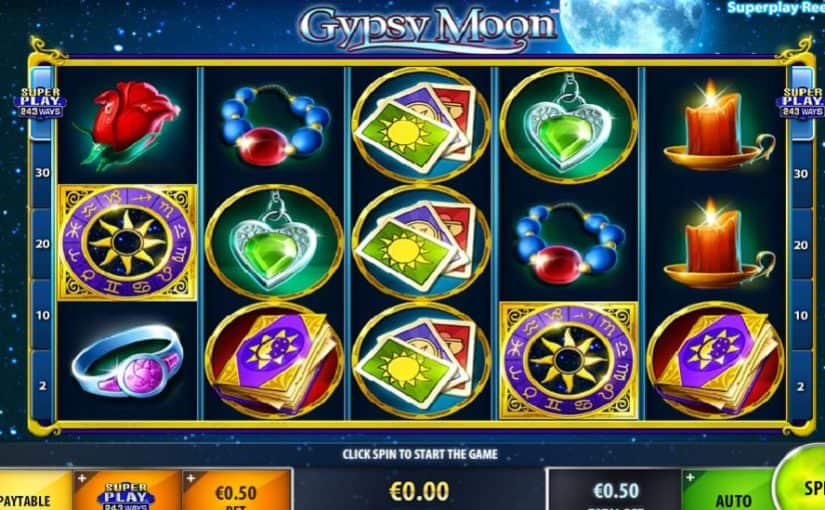Play Gypsy Moon Online Slot For Free