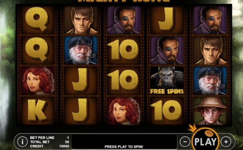 Play Mighty Kong Online Slot For Free