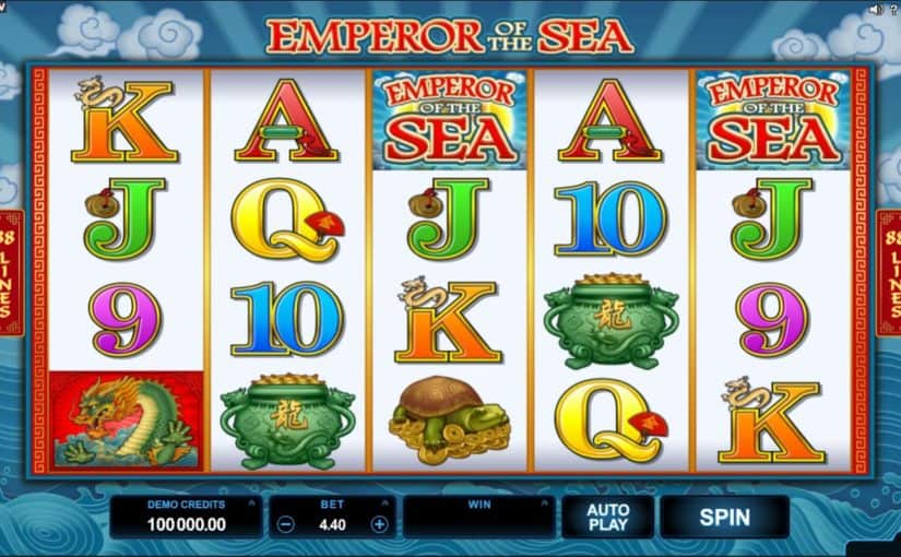 Play Emperor Of The Sea Online Slot For Free