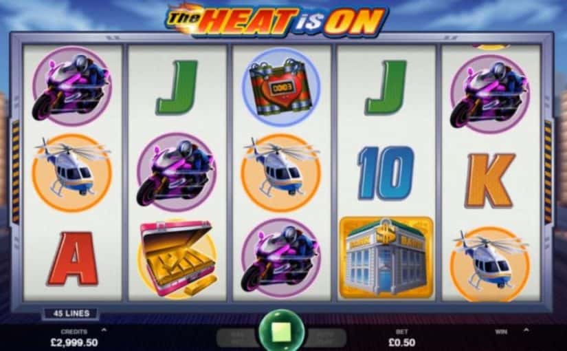 Play The Heat Is On Online Slot For Free