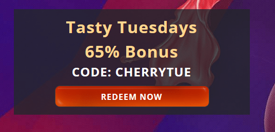 Casino Match Bonus At Cherry Jackpot Casino