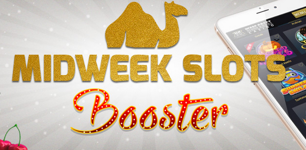 25% Extra Midweek Slots Booster At Vegas Crest Mobile Casino! (US Welcome)