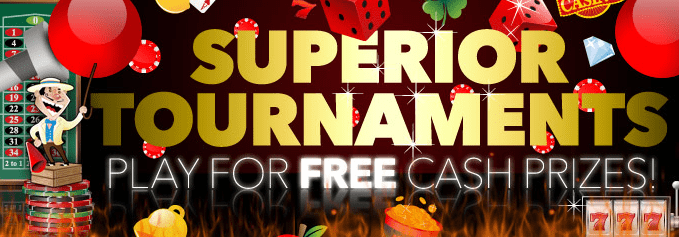 Slot Tournaments At Superior Casino