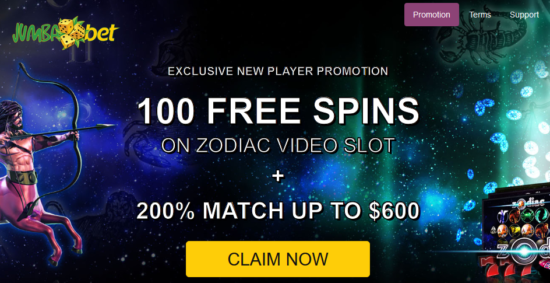 zodiac casino 200 free spins