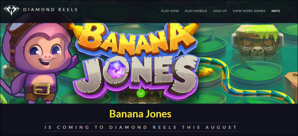 Banana Jones Free Spins!