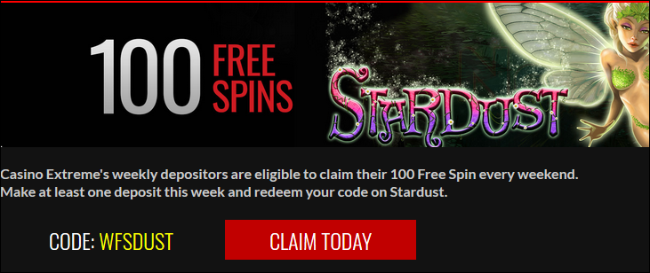 Free Spins At Casino Extreme!