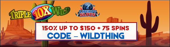 Casino Bonuses At Liberty Slots Casino.